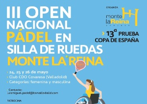 3rd EDITION OF THE WHEELCHAIR PADEL TENNIS OPEN