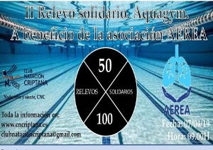 II RELEVO SOLIDARIO CLUB NATACION CRIPTANA