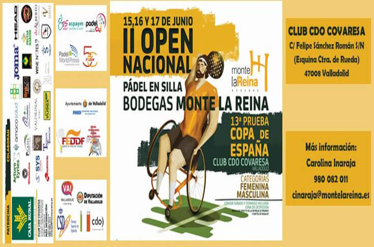 Torneo Pádel en Silla Ruedas – 2018