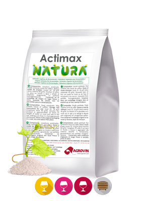 Nutriente enológico orgánico para fermentación alcohólica
